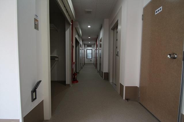 トランクルーム内